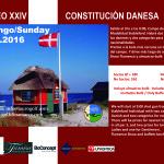 cartel danes en español e ingles 2016