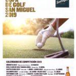 Carte Copa de Golf San Miguel 2019