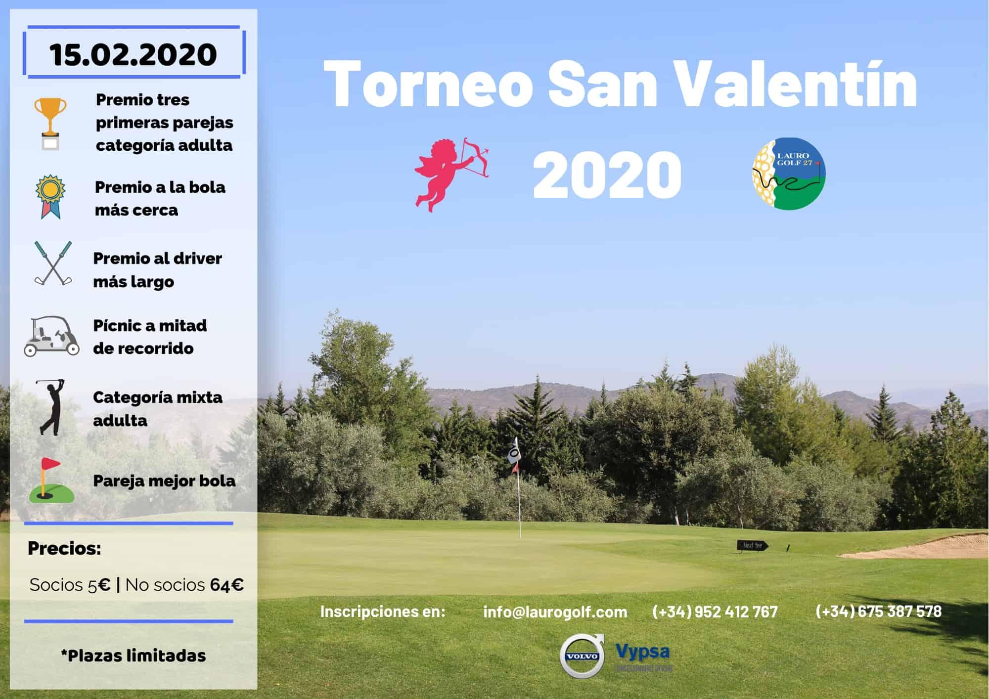 Torneo San Valentín 2020 - Lauro Golf Resort - Málaga - Costa del Sol