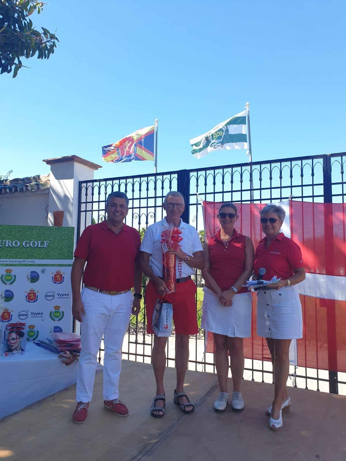 Torneo Constitución Danesa en Lauro Golf Resort