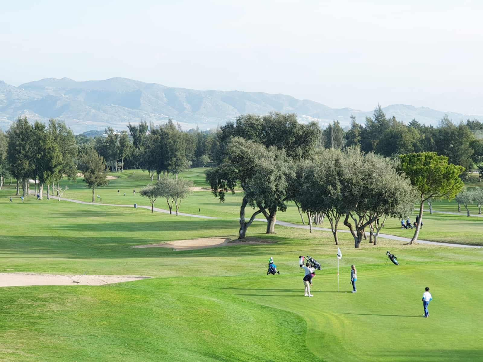 Pequecircuito celebrado en Lauro Golf