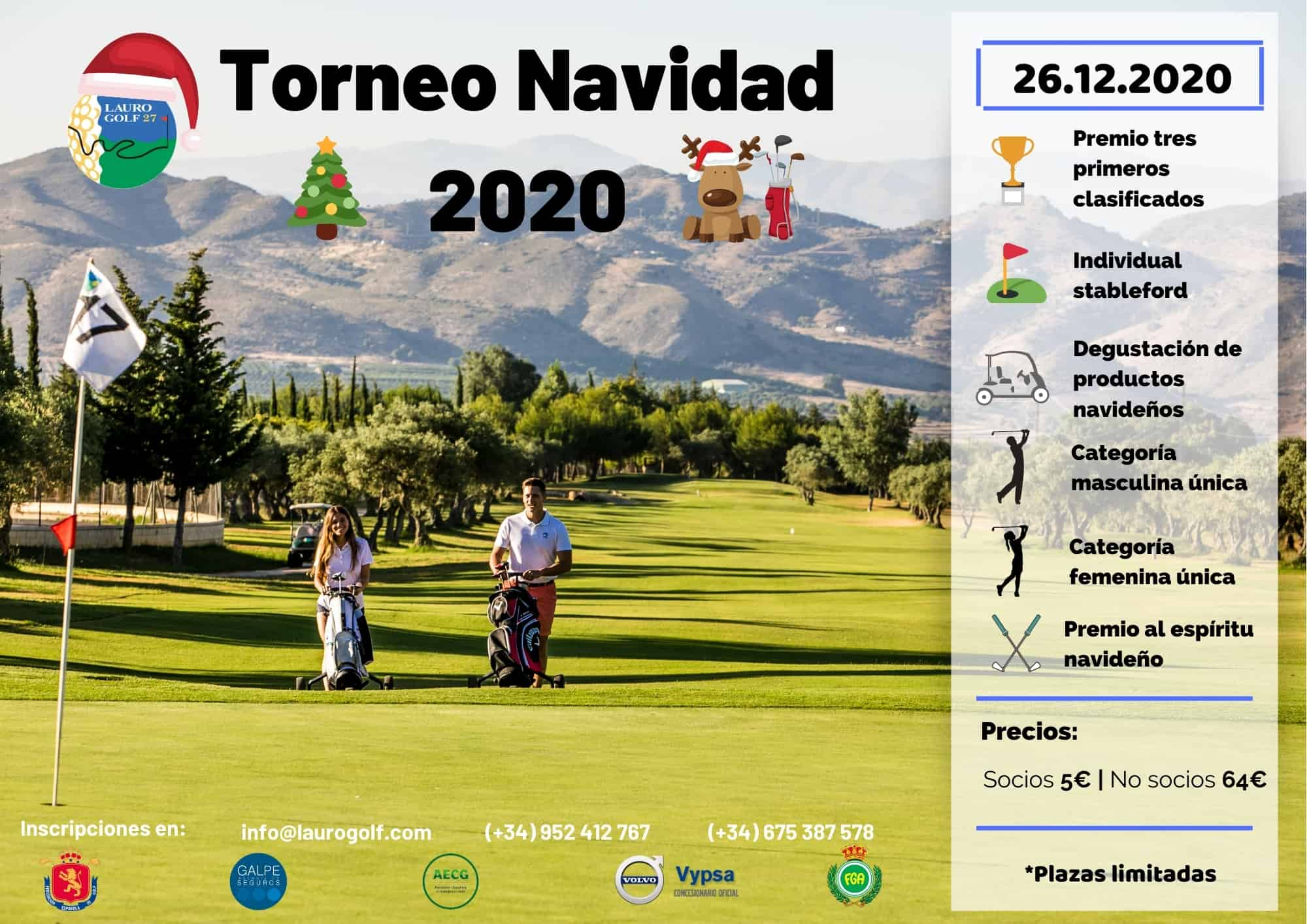 The best Christmas golf event on the Costa del Sol