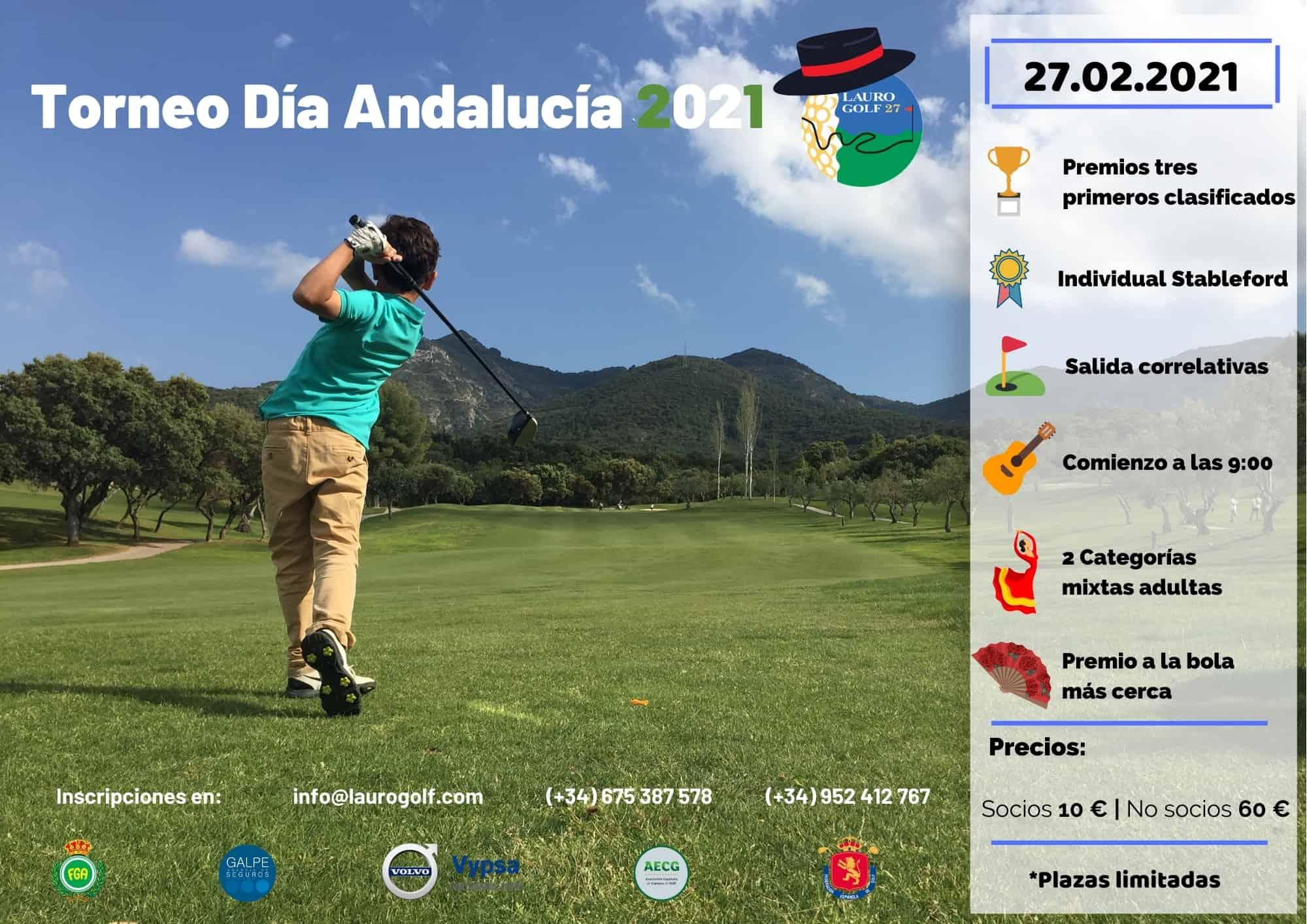El Torneo Día de Andalucía 2021 de Lauro Golf Resort uno de los mejores eventos sociales de la Costa del Sol